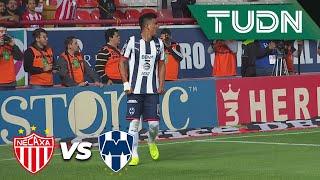 Gol anulado de Jesús Gallardo | Necaxa 0 - 0 Rayados | Liga Mx - Ap 2019 - Semifinal | TUDN