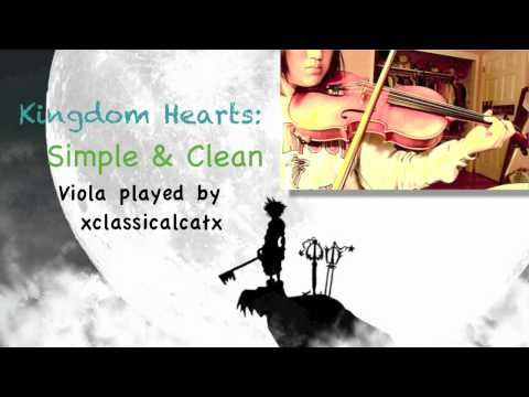 Kingdom Hearts: Hikari (Simple and Clean) [viola + orchestral cover] ~ Download Link!