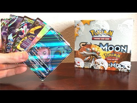 HYPER RARE PULL!!! - OPENING A NEW POKEMON SUN AND MOON BOOSTER BOX! - SUN AND MOON CARDS!
