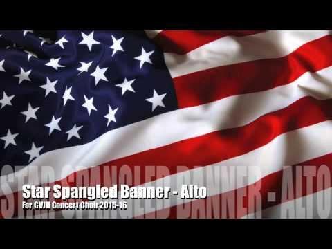 Star Spangled Banner - Alto