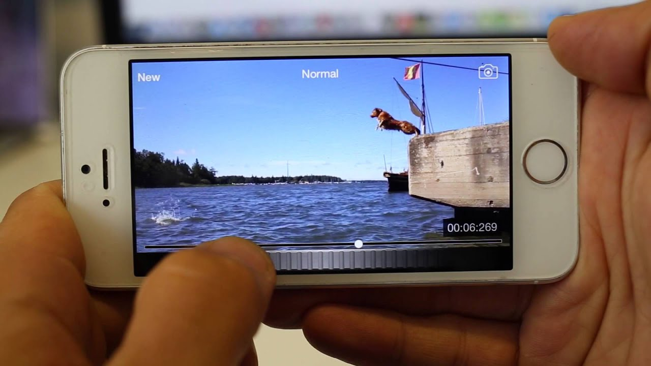 Take still image from video using iPhone or iPad  (Slow - Motion Video  Player)