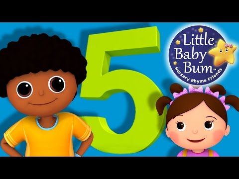 Numbers Song | Number 5 | Nursery Rhymes | Original Song By LittleBabyBum!