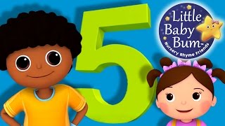 Learn with Little Baby Bum | The Number 5 Song | Nursery Rhymes for Babies | Songs for Kids