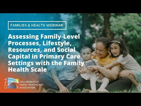Families and Health SIG Webinar - July 2021