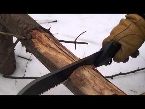 Gerber Gator jr. machete -Test