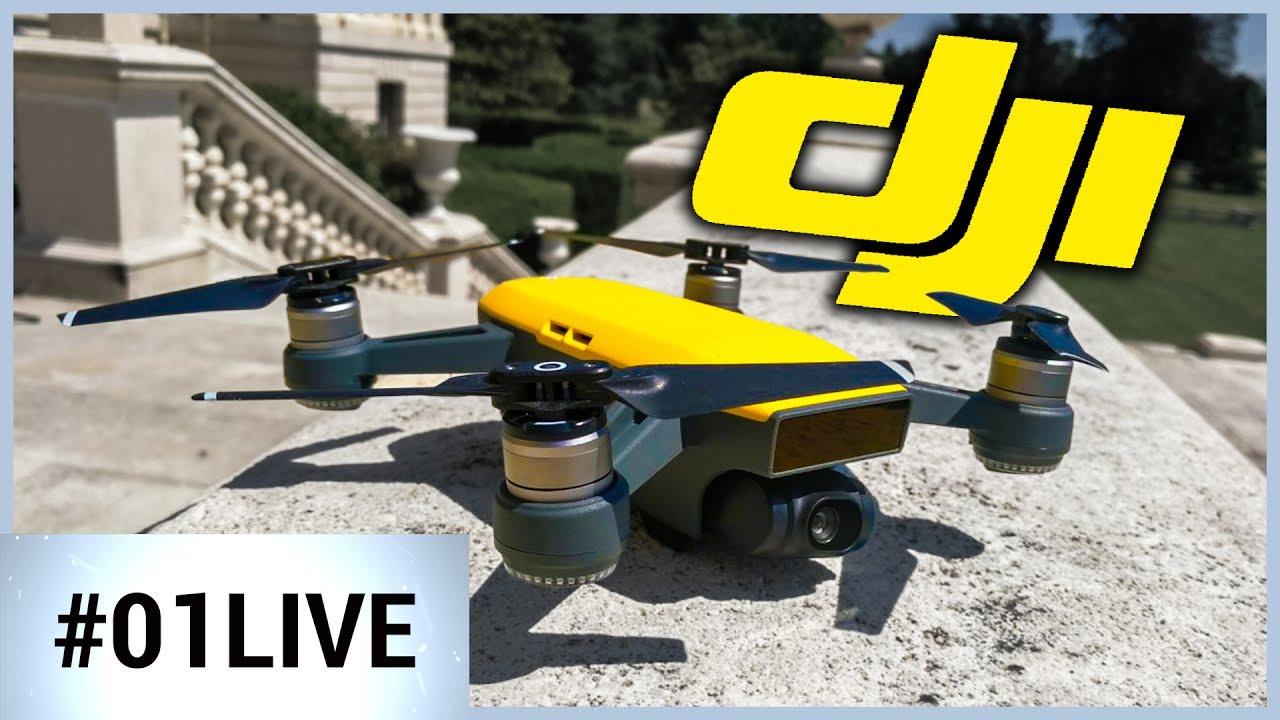 01LIVE HEBDO #144 : enfin un drone pour les nuls !