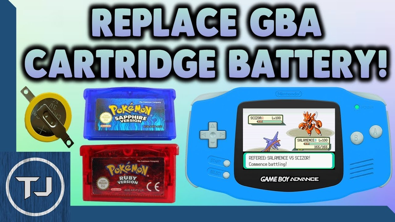 How to Change Your Game Boy Cartridge Battery (Quick ...
