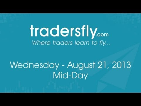 Mid Day Recap on the Stock Market and Tapering - Netflix Evaluation - Aug 21, 2013