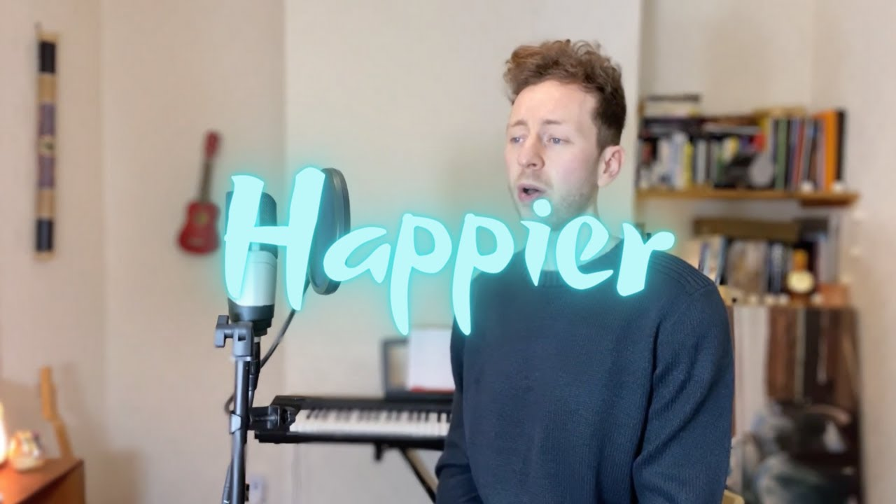 HAPPIER - Marshmallow/Bastille Cover