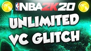 Newest VC Glitch NBA 2k20 (20k VC per Hour) Hurry before its patched!