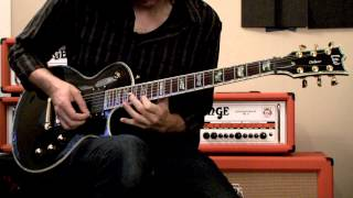 ESP LTD EC-1000 Black Electric Guitar Demo by Dan Mumm