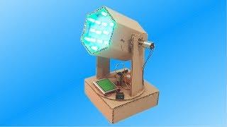 Cómo Hacer una Mini Cabeza Robótica de Cartón