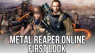 Metal Reaper Online (Free Online Shooter): Watcha Playin'? Gameplay First Look
