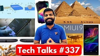 tech talks 337 redmi y1 oppo f5 3 5mm jack flipkart drone delivery miui 9 razer phone