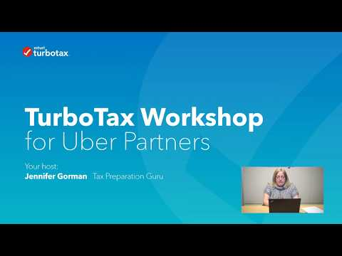 TurboTax Canada Uber Partner Webinar For The 2017 Tax Year
