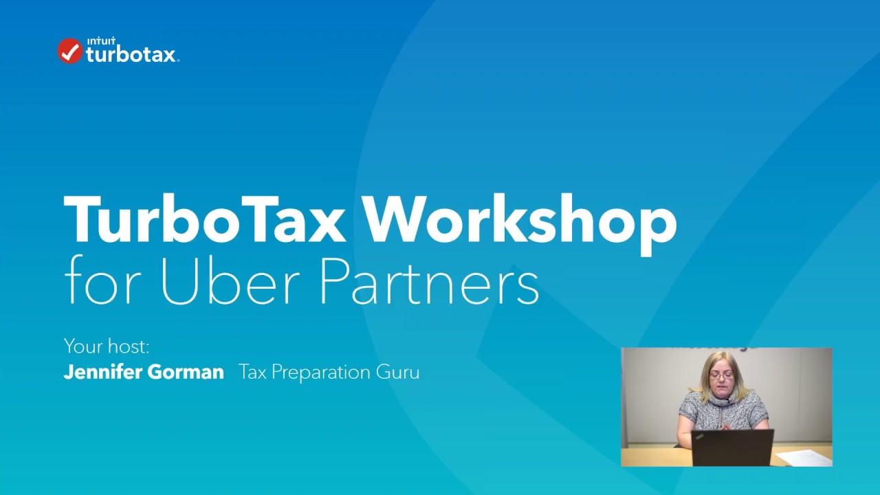 TurboTax Canada Uber Partner Webinar for the 2017 Tax Year