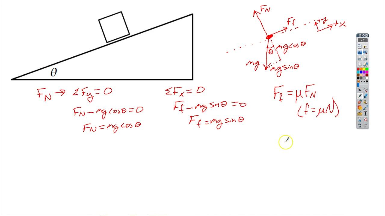 worksheet Coefficient Of Friction Worksheet coefficient of friction lab method 2 youtube 2