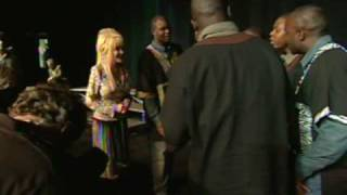 Dolly Parton Singing with Zambian Vocal Group