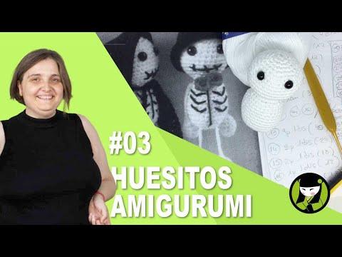AMIGURUMI PARA HALLOWEEN 03 y mi pequeño homenaje a Concha