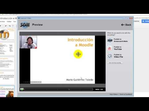 Como hacer un video con Screencast-O-Matic