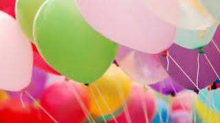 Mainan anak ~ Tiup Balon Warna warni # Inflatable Balloon Colorful Children toys
