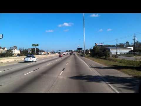 US Highway 59 in North Houston