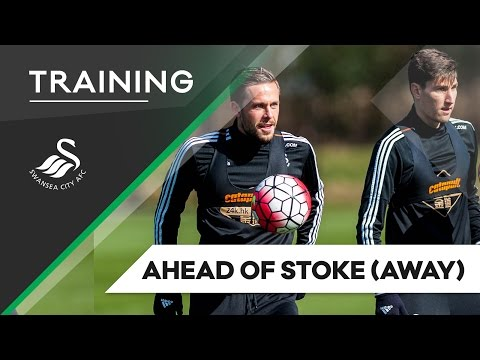 Swans TV - Training ahead of Stoke (Away)