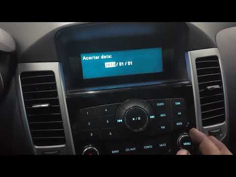 Aprendar Como Regular Hora E Data Do Computador De Bordo Do Chevrolet Cruze! 2015