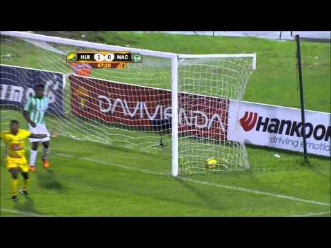 Atlético Huila 2 - 0 Atlético Nacional. Fecha 14 Liga Postobón 2014-I - Win Sports