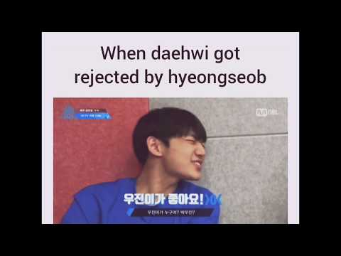 When Lee Daehwi Got Rejected By Ahn Hyeongseop [Woojin❤Hyeongseop]