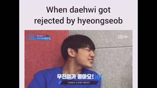 Video When Lee Daehwi got rejected by Ahn Hyeongseop [Woojin❤Hyeongseop] download MP3, 3GP, MP4, WEBM, AVI, FLV Agustus 2018