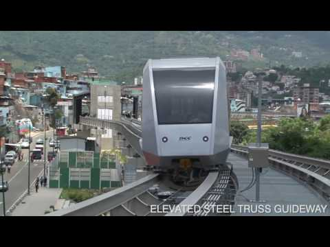 Caracas Cabletren Bolivariano Venezuela - Doppelmayr Cable Car HD
