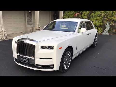 2019 Rolls Royce PHANTOM Extended Wheel Base Arctic White ...
