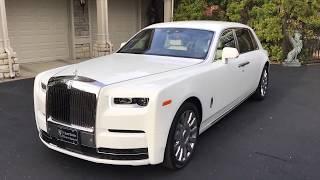 2020 Rolls Royce Phantom ewb Arctic White