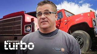 Andy quiere arreglar un camión demasiado defectuoso | Chatarra de oro | Discovery Turbo