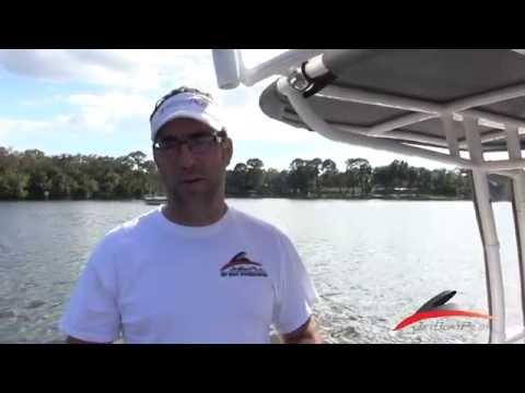 JetBoatPilot Yamaha FSH Sport Rocket Launcher With Spreaders and Nav Lights