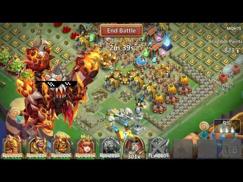 Atlanticore Smashes Top Bases In GW L Castle Clash