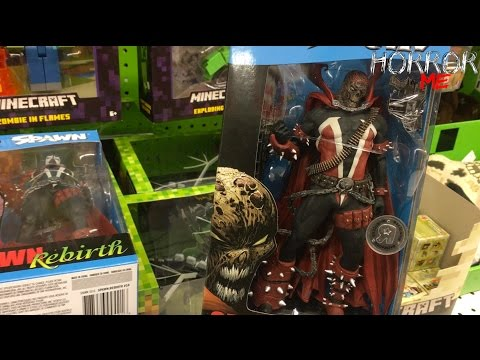 Toy Hunting (SPAWN Maskless EXCLUSIVE / STREET FIGHTER Minis) W/ Horror In Me