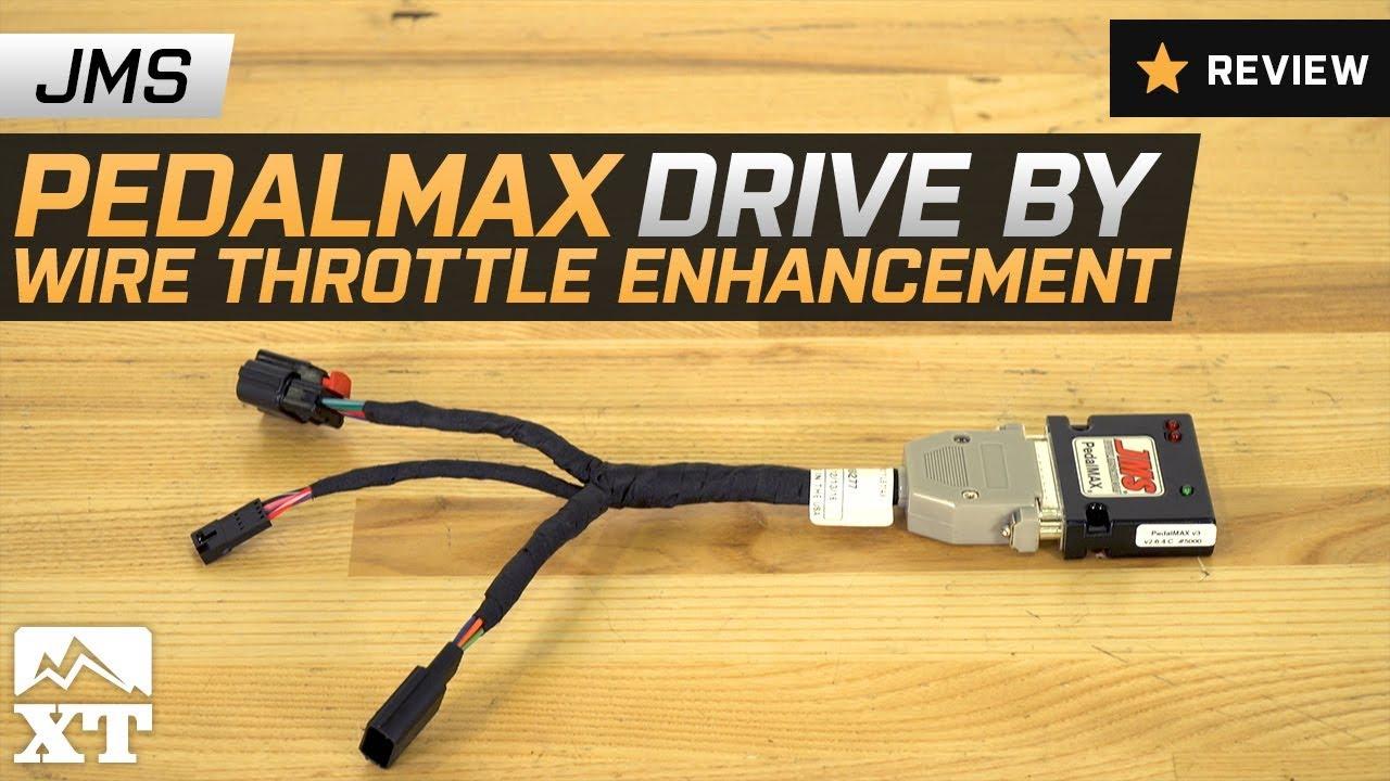 jeep wrangler jms pedalmax drive by wire throttle enhancement 2007 2017 jk review [ 1280 x 720 Pixel ]