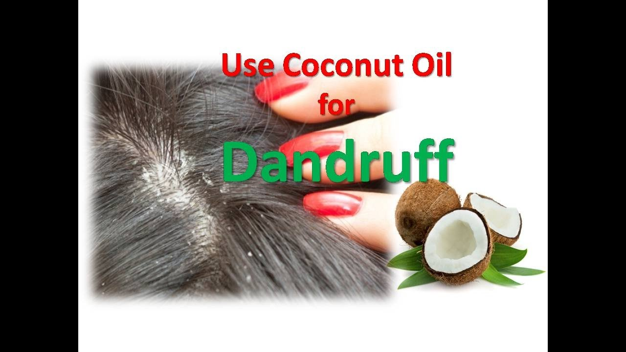 Use Coconut Oil For Dandruff How To Treat Dandruff And Grow Hair - How to use coconut oil on hair