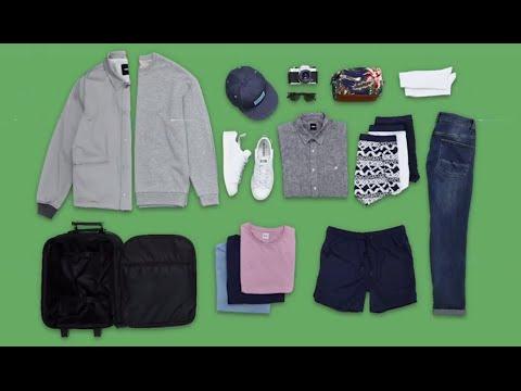 How to pack for a city break / long weekend away | ASOS Menswear tutorial