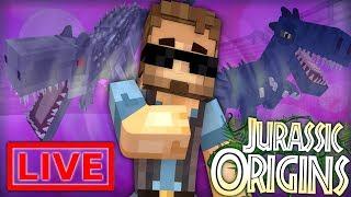 "Jurassic World Origins #18.5 ""Zombie Scientists?"" (Dinosaur Mod Minecraft Roleplay) /w Xylophoney"