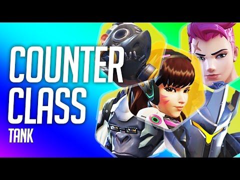 Overwatch Counter Class - Tank Heroes (How To Counter Pick)