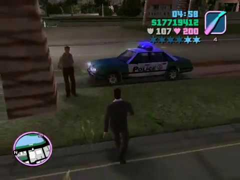 Grand theft auto Vice City PC Gameplay - YouTube