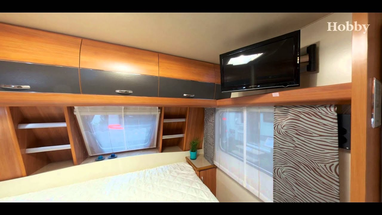Hobby 545 KMF De Luxe 2013  YouTube