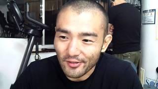 村山暁洋 9.23後楽園 計量時インタビュー