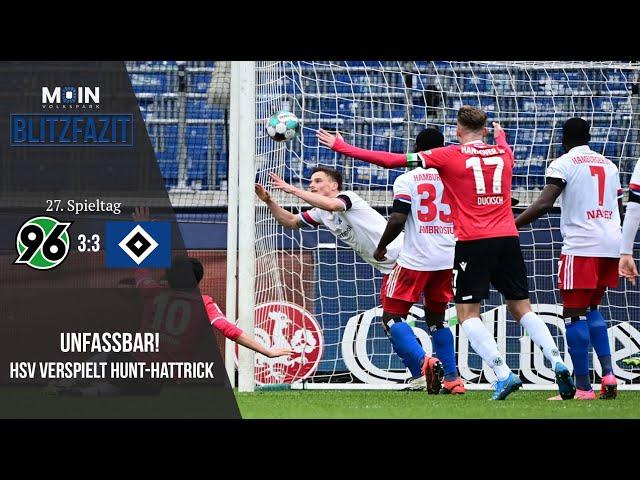 Scholles Blitzfazit zum Spiel | Hannover 96 3:3 HSV / Saison 20/21 | #014
