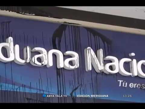 Edificio de la Aduana Regional El Alto sufre daños y anuncian ...