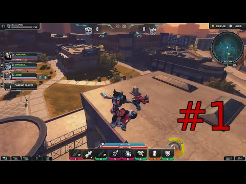 Transformers Universe - #1 Catapult Gameplay