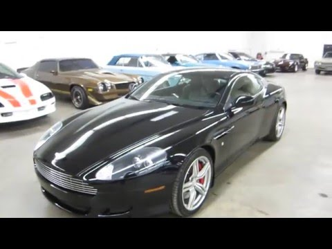 ** 2008 ASTON MARTIN DB9 COUPE 6-SPEED MANUAL TRANSMISSION ** SOLD !! PT.1